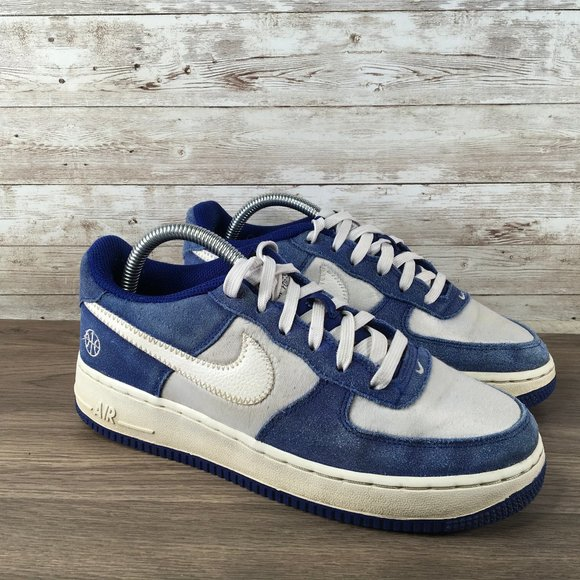 Nike Shoes Air Force 1 Low Royal Blue White Sneaker Poshmark